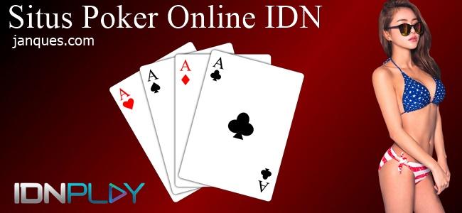 Situs Poker Online IDN Paling Bagus